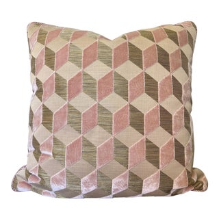 Manuel Canovas Vallauris Rose Pillow For Sale