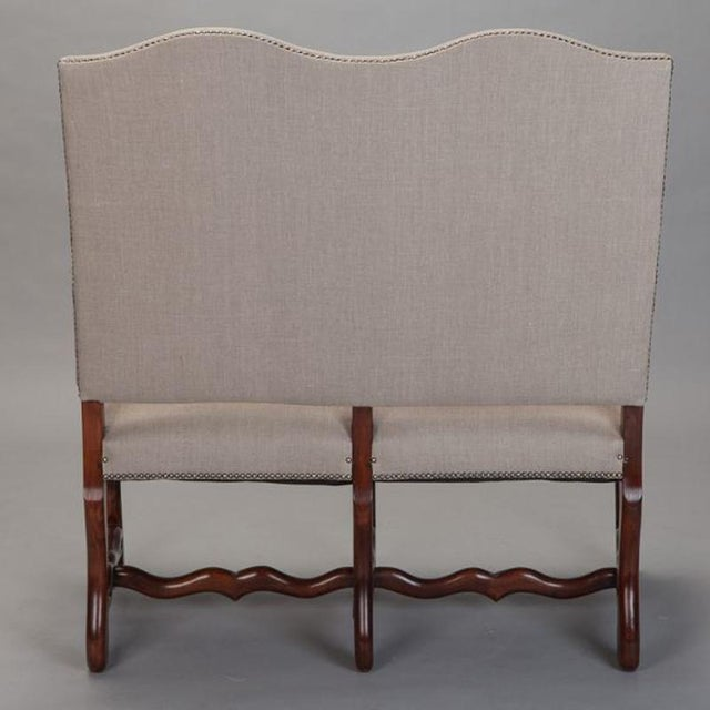 Os De Mouton Settee For Sale In Detroit - Image 6 of 7