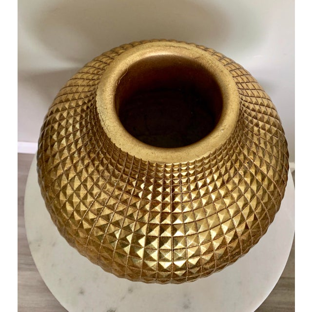 """What a stunning piece! Perfect way to add some Hollywood glamour to your decor, with or without flowers! 10"""" diameter and..."""