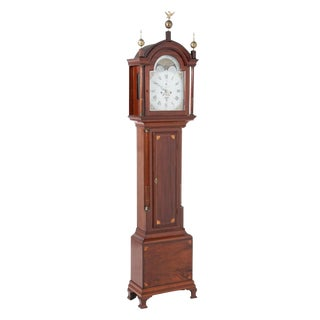 Early 18th Century English Traditional Tall Case Clock For Sale