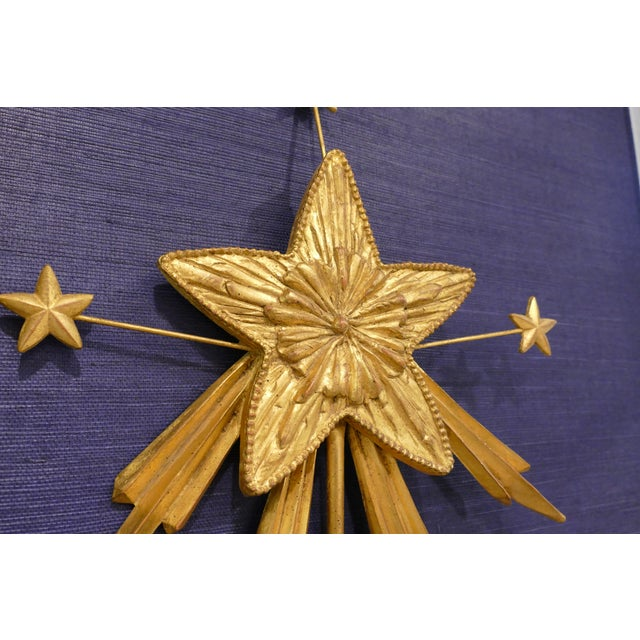 Carvers' Guild Carvers' Guild Shooting Star Candle Sconce For Sale - Image 4 of 8