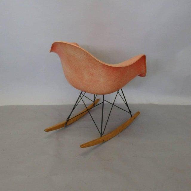 Herman Miller Best Eames Rar Herman Miller Zenith Rope Edge Rocking Chair For Sale - Image 4 of 8