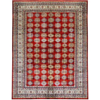 Traditional Hand Woven Rug - 12'11 X 16'8 For Sale