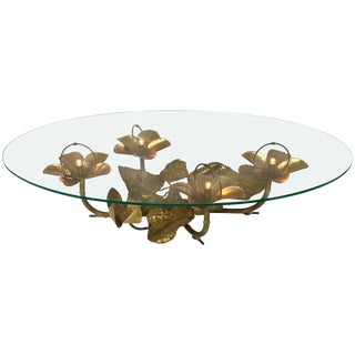 Hollywood Regency Lightning Coffee Low Table by Maison Honore Paris For Sale