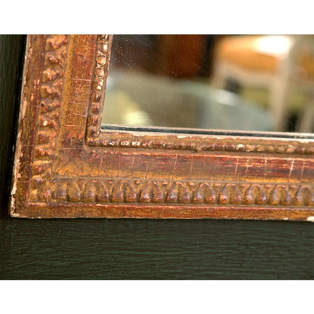 French Painted Trumeau Mirror - Image 5 of 8