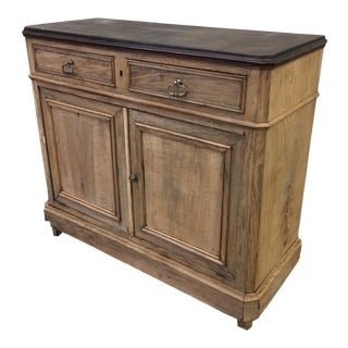 French Louis Philippe Bleached Walnut Sideboard