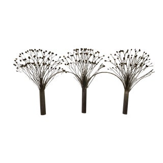 C. Jere Style Brass Trees Sculpture