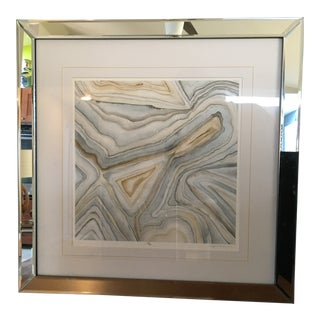 Megan Meyers Agate Contemporary Signed & Numbered Print For Sale