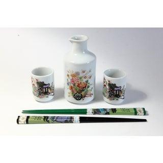 Sake & Chop Sticks - 5 Pieces Preview
