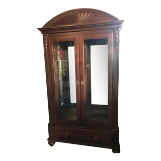 Ethan Allen British Classics Curio Cabinet For Sale