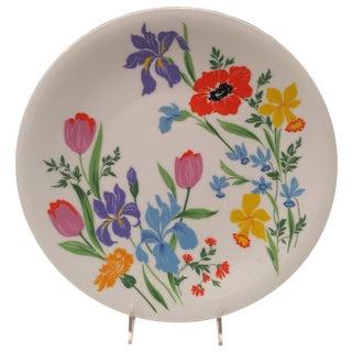Retro Bright Primavera Floral Platter by Heinrich