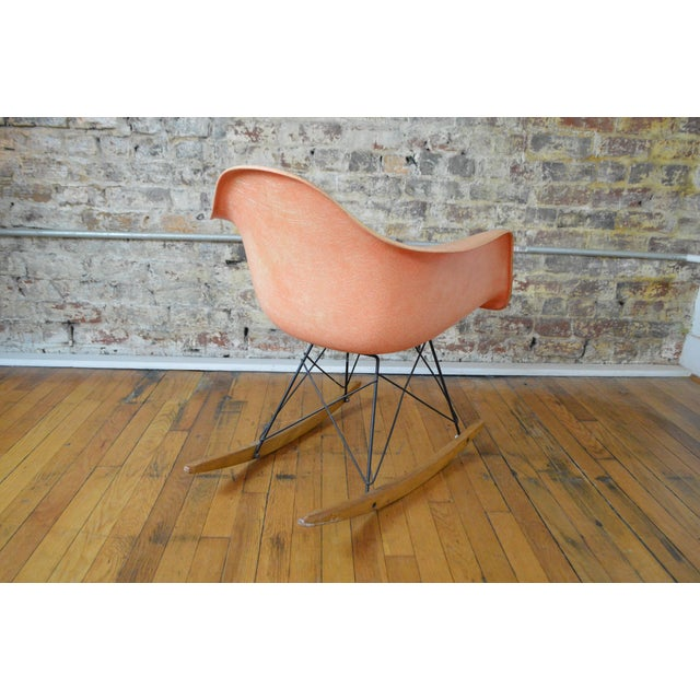 Charles & Ray Eames for Herman Miller Rar Zenith Rope Edge Rocking Chair For Sale - Image 6 of 11