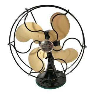 "1931 Art Deco Emerson Jr. 10""Electric Fan - Completely Restored For Sale"