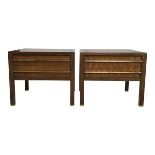 Michael Taylor for Baker Side Tables/Night Stands - a Pair