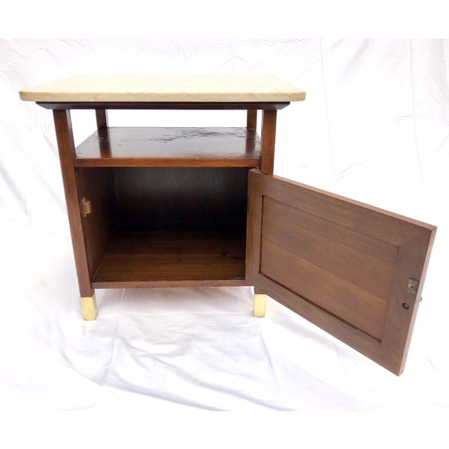 Mid 20th Century Mid-Century Modern Paul McCobb Manner Walnut Side Table For Sale - Image 5 of 11