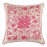 Image of Swallow Garden Linen Pillow For Sale