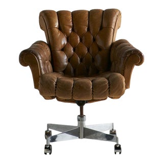 Edward Wormley for Dunbar Executive Desk Chair For Sale