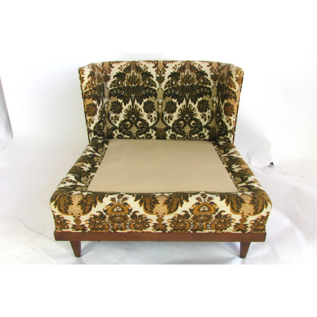Mid-Century Upholstered Slipper Chairs - A Pair - Image 7 of 10
