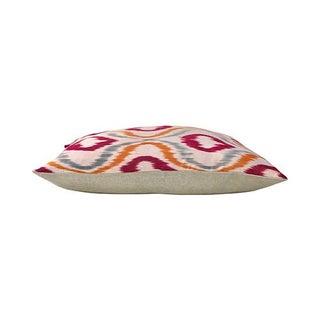 Kim Salmela Silk Ikat Lumbar Pillow Preview