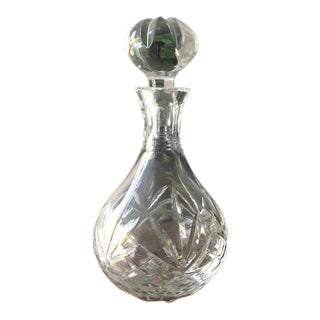Cut Crystal Decanter For Sale