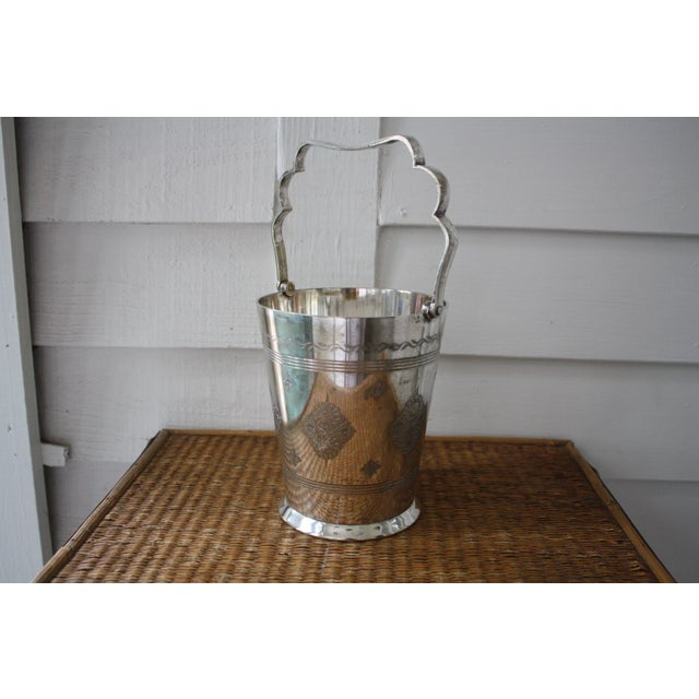 Moorish Style Silver Ice Bucket - Image 3 of 11