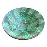 Image of Antique Islamic Kashan Persian 13th Century Turquoise Glazed Pottery Bowl For Sale
