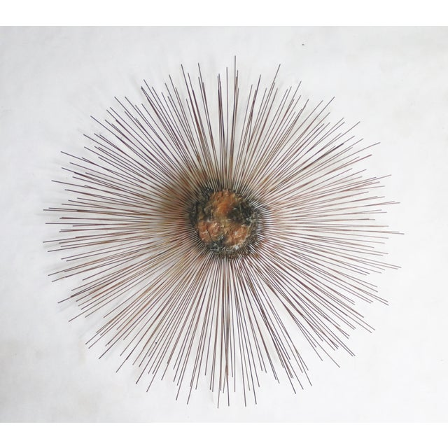 1970s Sunburst Wall Sculpture by William and Bruce Friedle For Sale - Image 5 of 5