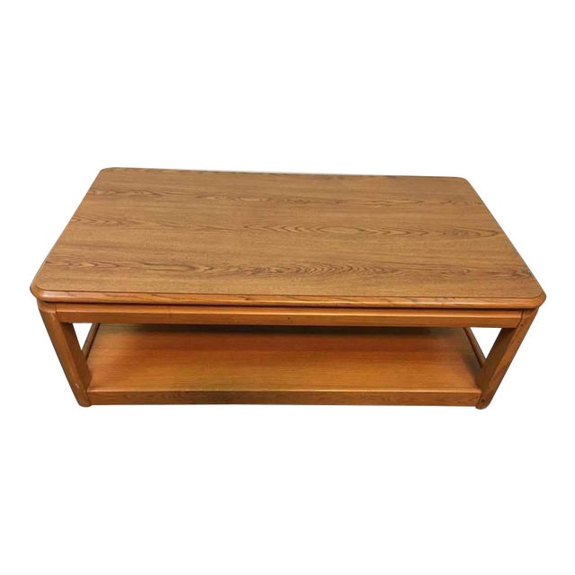 Laminate Oak Coffee Table Chairish