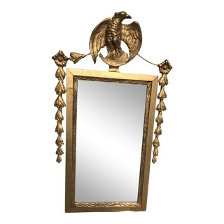 Antique War Time Federal Eagle Mirror For Sale