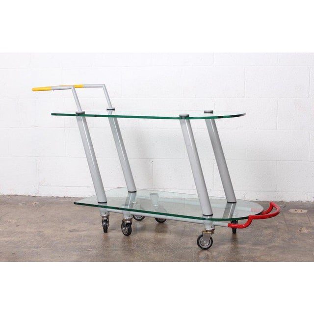 Hilton Trolly Barcart by Javier Mariscal for Memphis, 1981 For Sale - Image 10 of 10