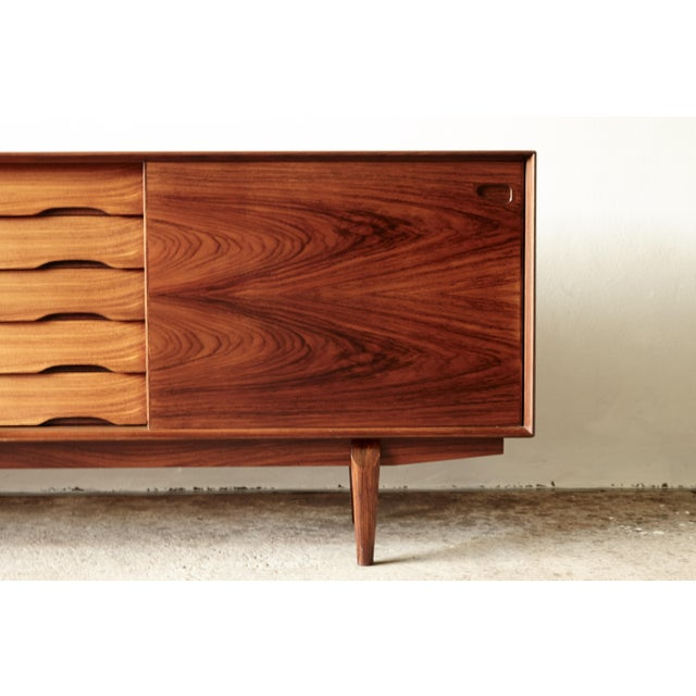 Brown Rosewood Midcentury No. 65 Sideboard by Skovby Mobler, Denmark, 1960s For Sale - Image 8 of 11