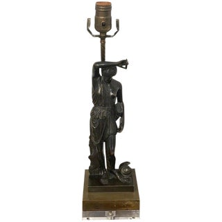 Grand Tour Bronze Sculpture of Diana, Now as a Lamp For Sale
