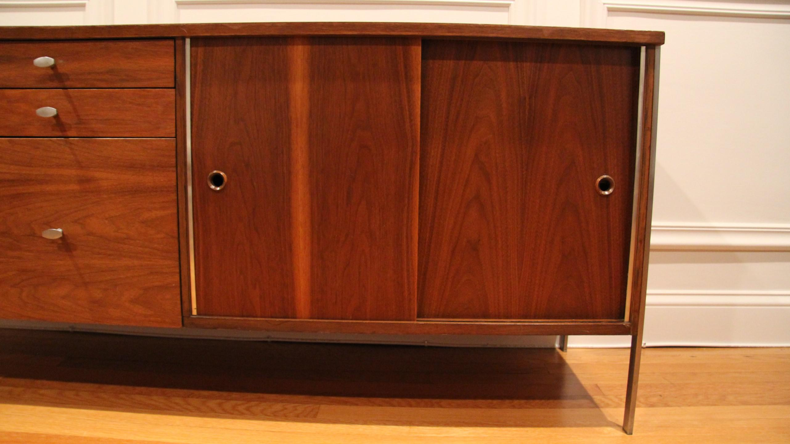Beautiful Paul Mccobb For The Calvin Group Midcentury Modern Credenza