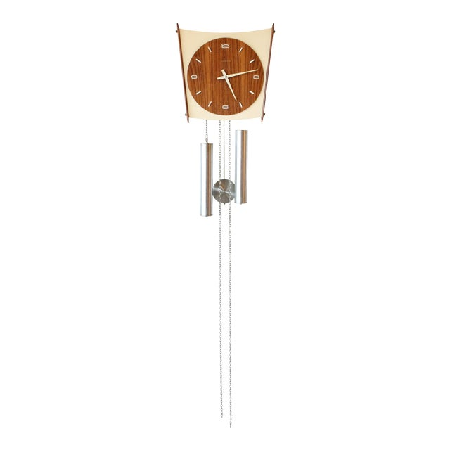 Junghans Germany Mid-Century Wall Clock - Image 1 of 6