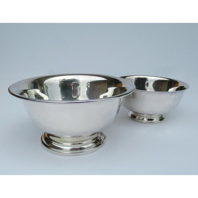 Vintage: Silverplate, Reed & Barton and Poole Silversmith, side serving bowls, Paul Revere Reproduction. The perfect...