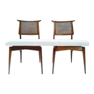 Mid 20th Century Re-Designed Mid-Century Bench For Sale