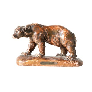 Antique Bear Sculpture