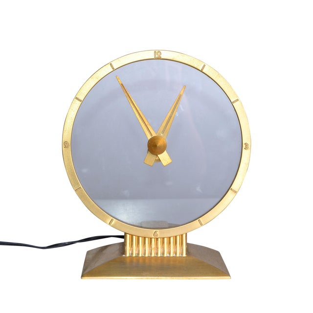 Jefferson Golden Hour Electric Clock For Sale