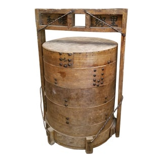 19th Century Chinese Dimsum Street Stall Table For Sale