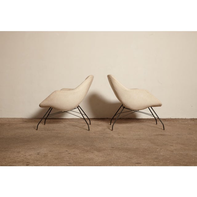 Mid 20th Century 1950s Vintage Forma Brazil Carlo Hauner and Martin Eisler Shell 'Concha' Lounge Chairs - a Pair For Sale - Image 5 of 13