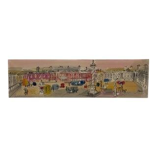"Original Artwork Charles Cobelle ""Bois De Boulogne"" Oil on Canvas For Sale"