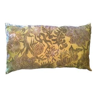Flowers 9 Silk Velvet Pillow Cover For Sale