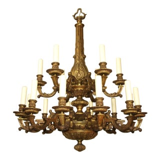 Antique Regency style chandelier For Sale