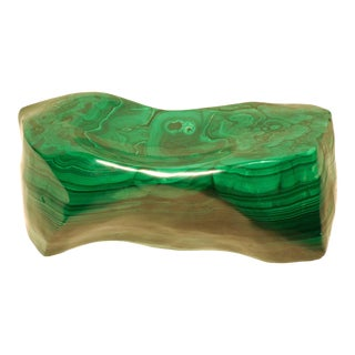 1970s Large Malachite Free-Form Vide-Poche, Democratic Republic of the Congo For Sale