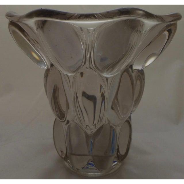 Mid-Century Modern Bubble Glass Vase - Image 4 of 11