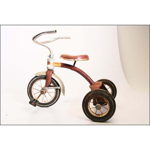 Vintage Rustic Metal Child's Tricycle - Image 3 of 11
