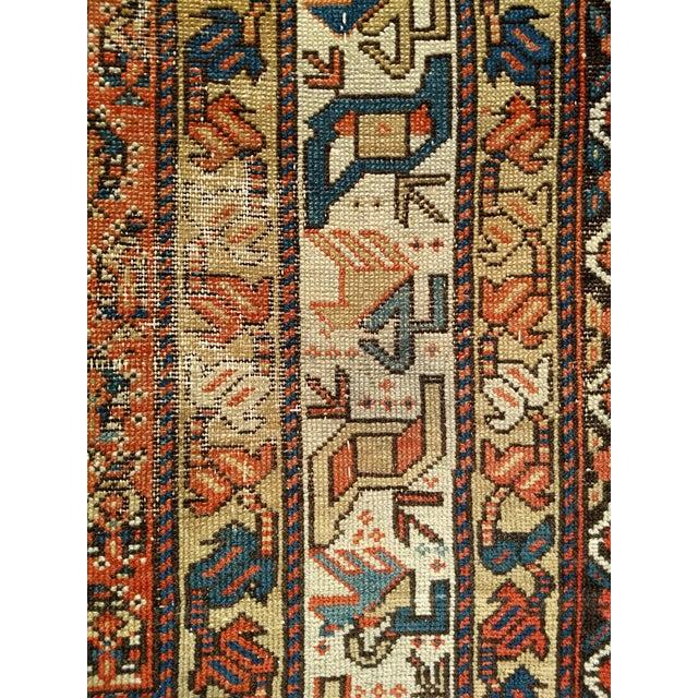 Textile 19th Century Kazak Rug 3′1″ × 5′6″ For Sale - Image 7 of 13