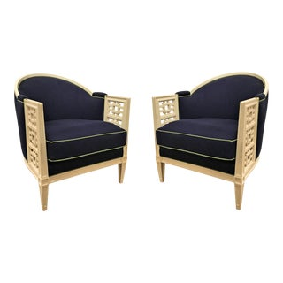 "Caracole ""Don't Fret About It"" Chairs - a Pair"