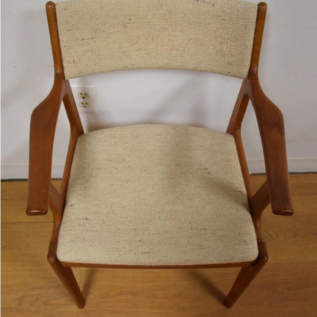 Mid-Century Teak Side Chair - Image 4 of 11
