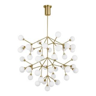 Mara Grande Chandelier LED Aged Brass